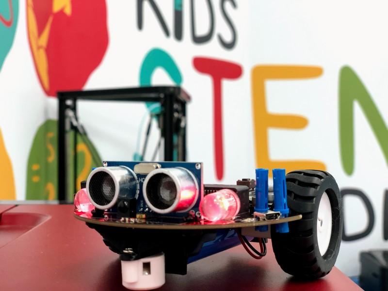 microbit機器人